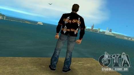 Slipknot 666 Shirt para GTA Vice City terceira tela