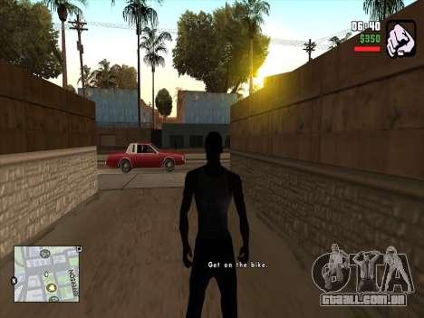 Mobile C-HUD para GTA San Andreas segunda tela