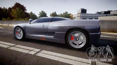 BMW Italdesign Nazca C2 v5.1 para GTA 4 esquerda vista