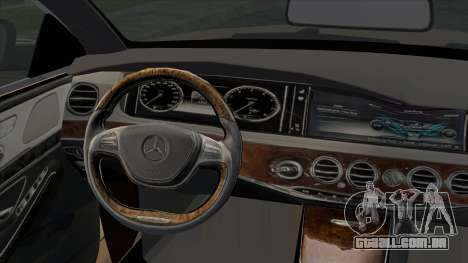 Mercedes-Benz S350 W222 2014 para GTA San Andreas vista direita