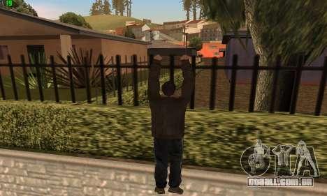 Animações do GTA 4 para GTA San Andreas por diante tela