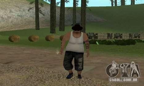 Realista marcha para GTA San Andreas