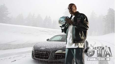Inverno telas de inicialização para GTA 4 oitavo tela