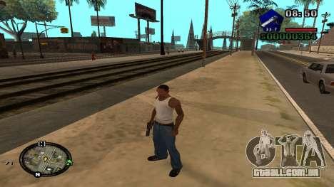 C-HUD by Kidd para GTA San Andreas por diante tela