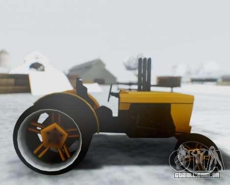 Tractor Kor4 para GTA San Andreas traseira esquerda vista
