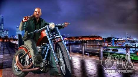 As telas de carregamento, Riviera francesa para GTA 4 terceira tela