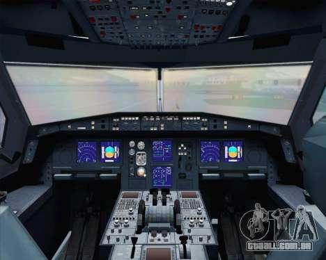 Airbus A330-300 Scandinavian Airlines para o motor de GTA San Andreas