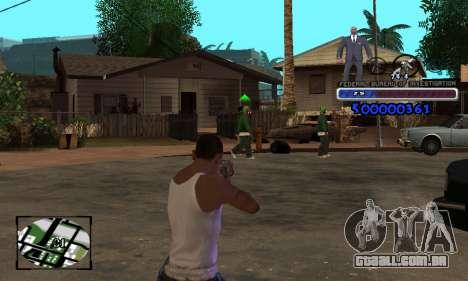 FBI C-HUD para GTA San Andreas terceira tela