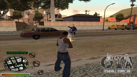 C-HUD Wonderful para GTA San Andreas