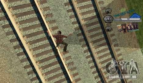 C-HUD Rifa para GTA San Andreas terceira tela