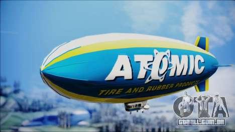 Blimp Atomic para GTA San Andreas