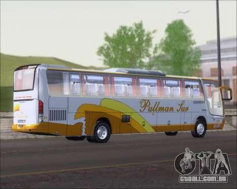 Busscar Vissta Buss LO Pullman Sur para GTA San Andreas vista direita