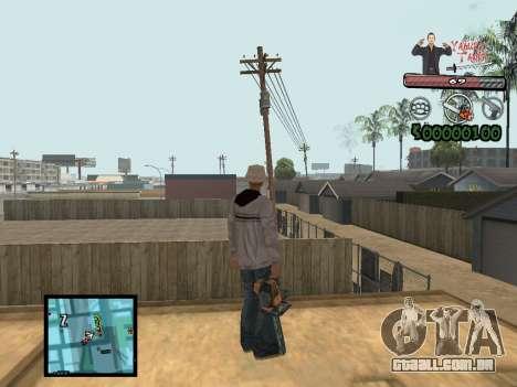 C-Hud Yakuza II para GTA San Andreas segunda tela