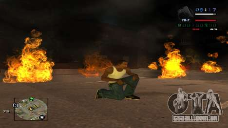 C-HUD Politra para GTA San Andreas terceira tela