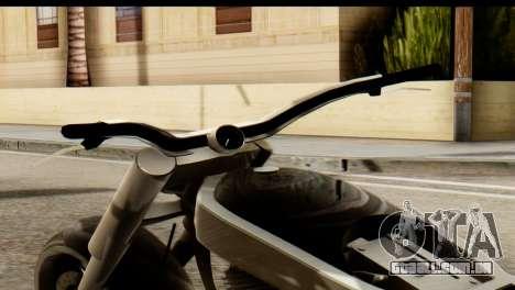 Innovation GTA 5 para GTA San Andreas traseira esquerda vista