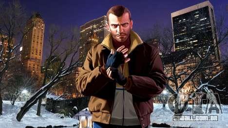 Inverno telas de inicialização para GTA 4