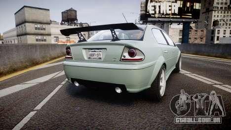Declasse Premier Sport X para GTA 4 traseira esquerda vista