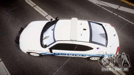 Dodge Charger 2006 LCPD [ELS] para GTA 4 vista direita