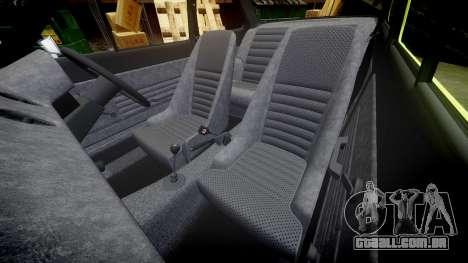 Ford Escort RS1600 PJ62 para GTA 4 vista lateral