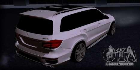 Mercedes GL500 para GTA San Andreas esquerda vista