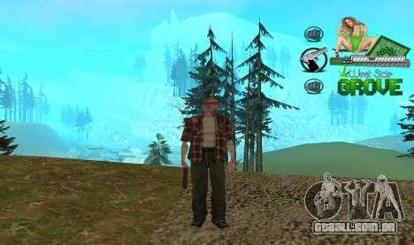 C-HUD Groove St. Family para GTA San Andreas