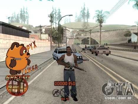 C-HUD PYX TAWER GHETTO para GTA San Andreas segunda tela