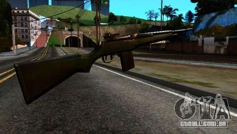 New Rifle para GTA San Andreas segunda tela