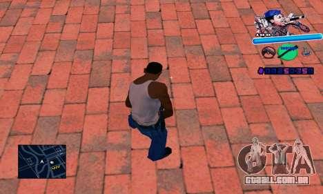 C-HUD Wiz Khalifa para GTA San Andreas segunda tela