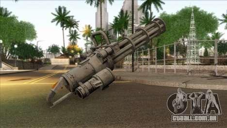 Minigun from GTA 5 para GTA San Andreas segunda tela