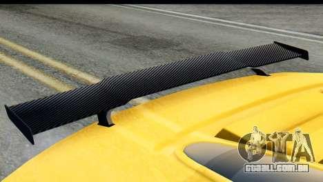 GTA 5 Obey 9F Cabrio IVF para GTA San Andreas vista direita