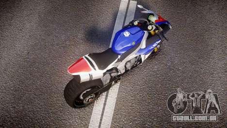Yamaha YZF-R1 Custom PJ2 para GTA 4 vista direita
