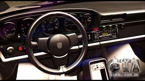 Porsche 911 1980 Winter Release para GTA San Andreas vista interior
