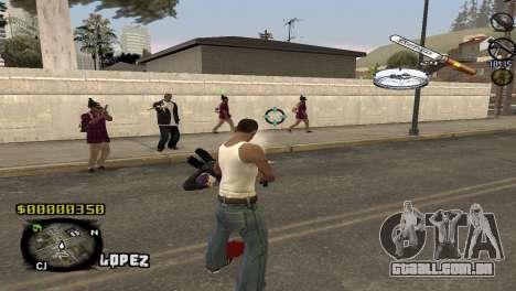 C-HUD Sigara para GTA San Andreas segunda tela