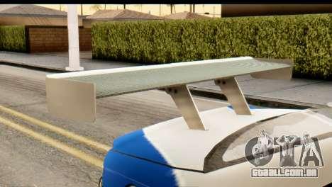 BMW M3 E46 GTR NFS MW para GTA San Andreas vista direita