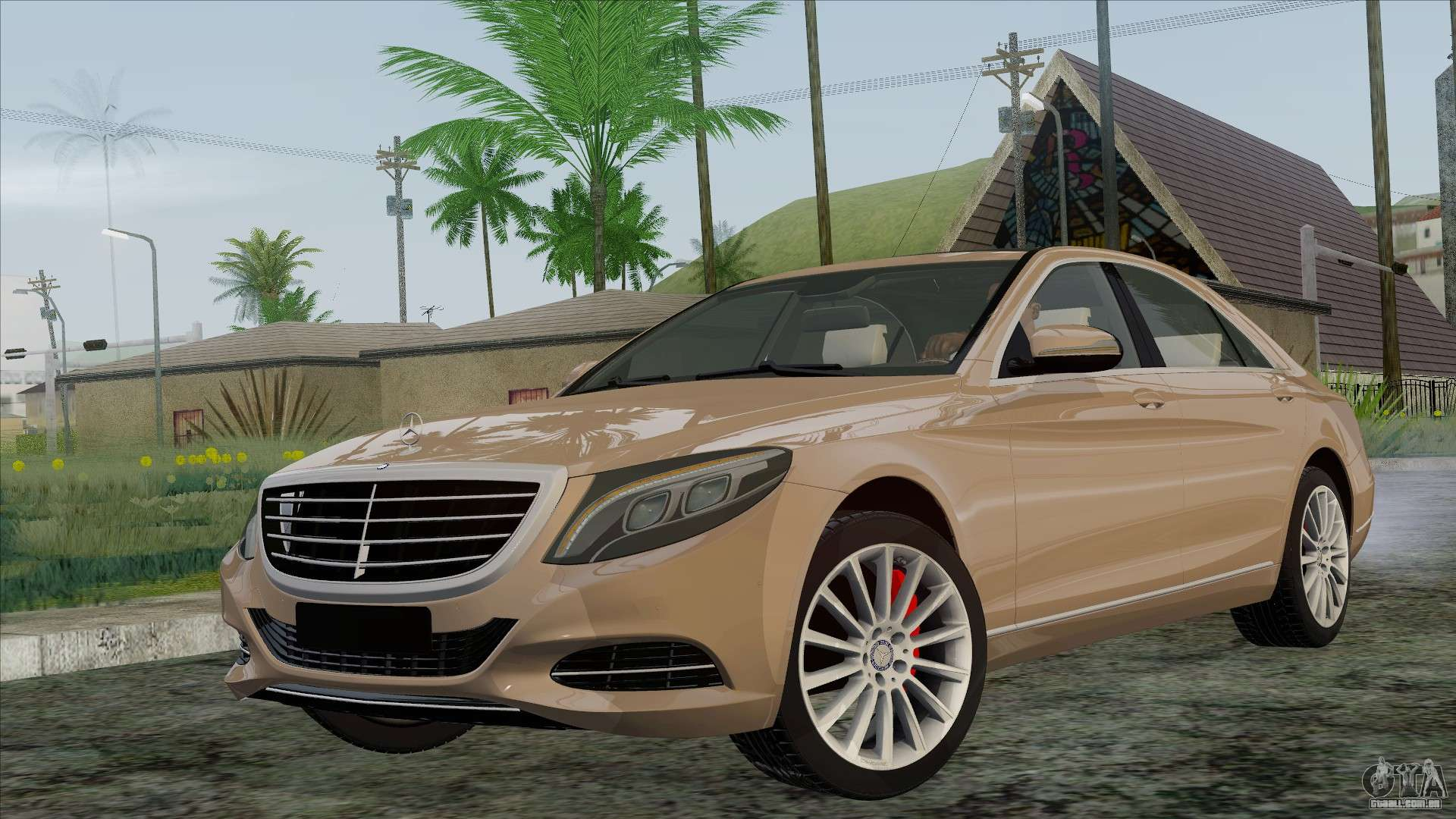 Mercedes benz s350 w222 2014 para gta san andreas for Mercedes benz s350 2014