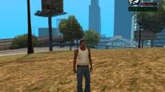 Indicador numérico HP para GTA San Andreas