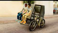 Pedicab Philippines para GTA San Andreas