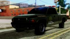 Dodge Dakota National Guard Base Police