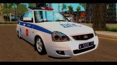 VAZ 2172 Polícia para GTA San Andreas
