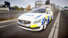 Volvo V60 Swedish Police [ELS]