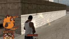 C-HUD PYX TAWER GHETTO para GTA San Andreas