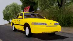 Ford Crown Victoria NY Taxi para GTA San Andreas