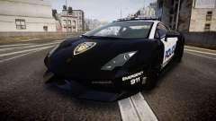 Lamborghini Gallardo LP570-4 LCPD [ELS] para GTA 4