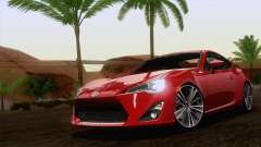 Toyota GT86 (ZN6) 2012 para GTA San Andreas