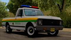 Chevrolet C10 1972 Policia para GTA San Andreas