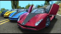 Grotti Cheetah v3 (GTA V) (SA Mobile) para GTA San Andreas