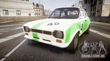 Ford Escort RS1600 PJ48 para GTA 4