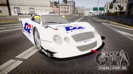 Mercedes-Benz CLK LM 1998 PJ36 para GTA 4
