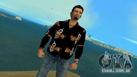 Slipknot 666 Shirt para GTA Vice City
