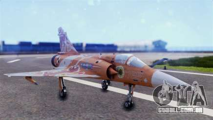 Dassault Mirage 2000-5 The Idol Master 2 para GTA San Andreas